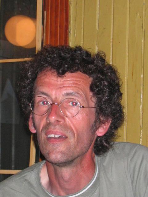 2005 Le journaliste <b>Dominique Moisan</b> à Montréal au Canada - amis11
